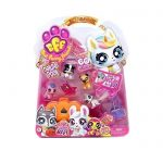6134 - MASCOTA BEST FURRY FRIENDS DELUXE PACK X 5 BFF WABRO