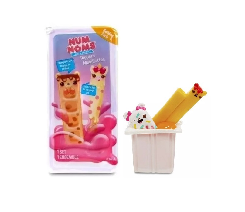 6138 – NUM NOMS SNACKABLES DIPPERS PACK INDIVIDUAL SERIE 1