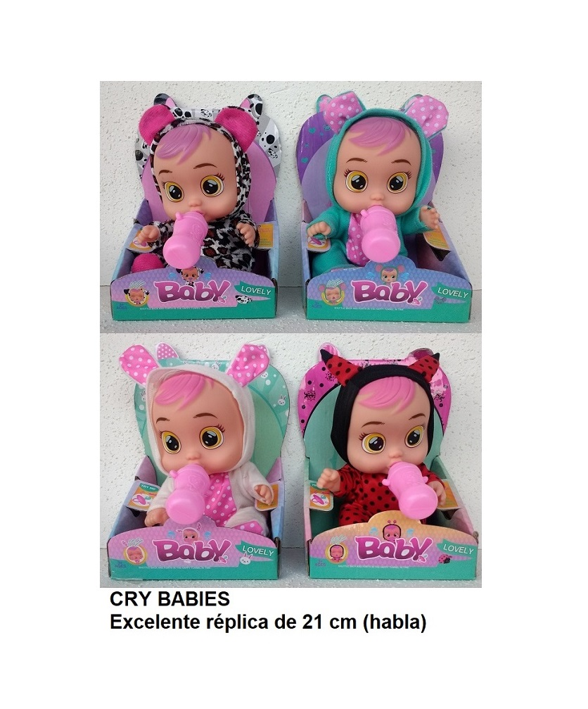 6180 – CRY BABIES 21 CM