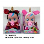 6181 - CRY BABIES 26 CM