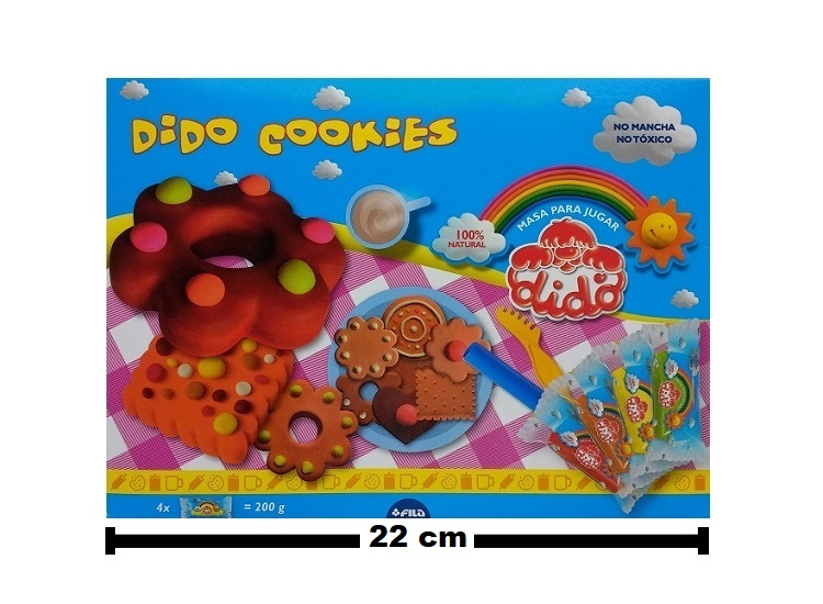 6402 – SET DE MASAS DIDO COOKIES
