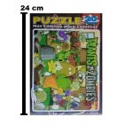 1459 - ROMPECABEZA 20 PIEZAS PLANTS VS ZOMBIES + LAMINA PARA COLOREAR